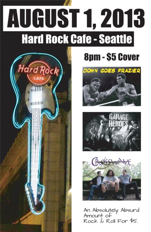DGF at Hard Rock Cafe